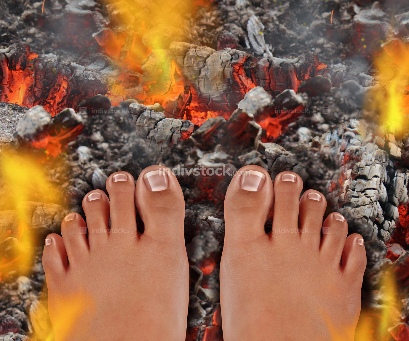 Walk On Fire