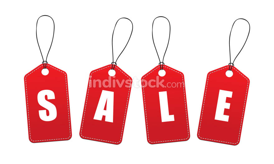 Vector Sale Tags / Labels
