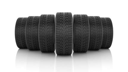 Car Tire 3d rendered