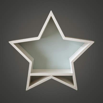 Christmas decoration empty white star