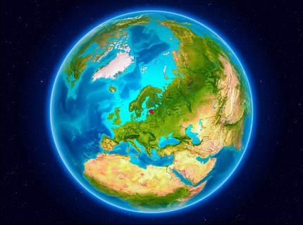 Estonia on Earth