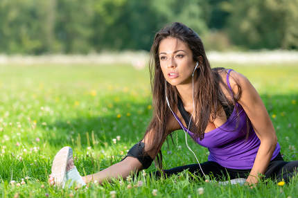 Fitness  activity outdoors