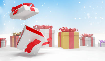free download: christmas present 3d illustration
