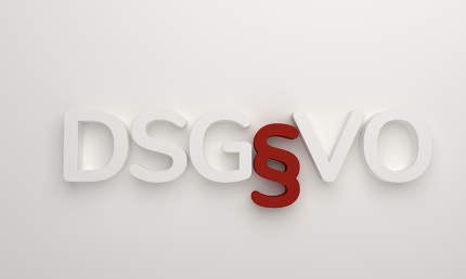free download: DSGVO 3d rendering white