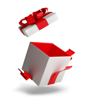 free download: open present 3d illustration