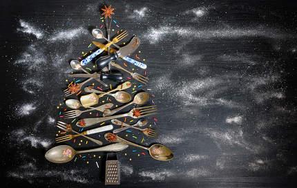 Kitchen Utensil Christmas Tree