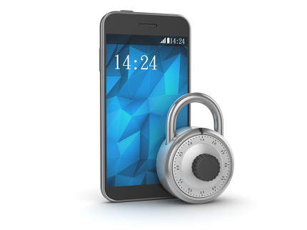 Mobil Phone with Lock