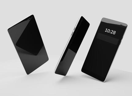 mobile phone design 3d-illustrator