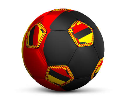 modern abstract russian Germany design soccer football ball 3d r