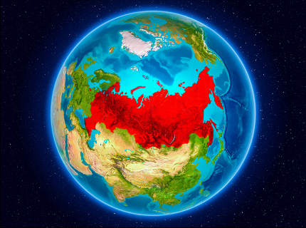 Russia on Earth
