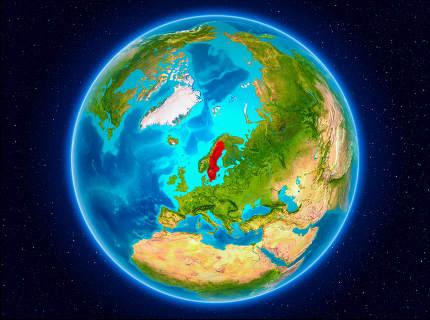 Sweden on Earth