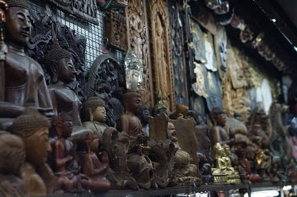 thai buddha decoration statues