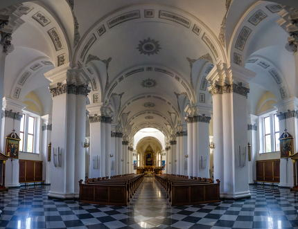 the Blessed Virgin Mary Cathedral in Odessa, Ukraine