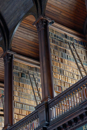 The Old Library, Trinity College, Dublin - The Book of Kells 17.