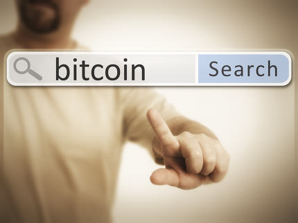 web search after bitcoin