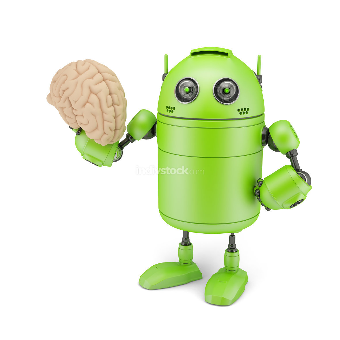 Android with Brain