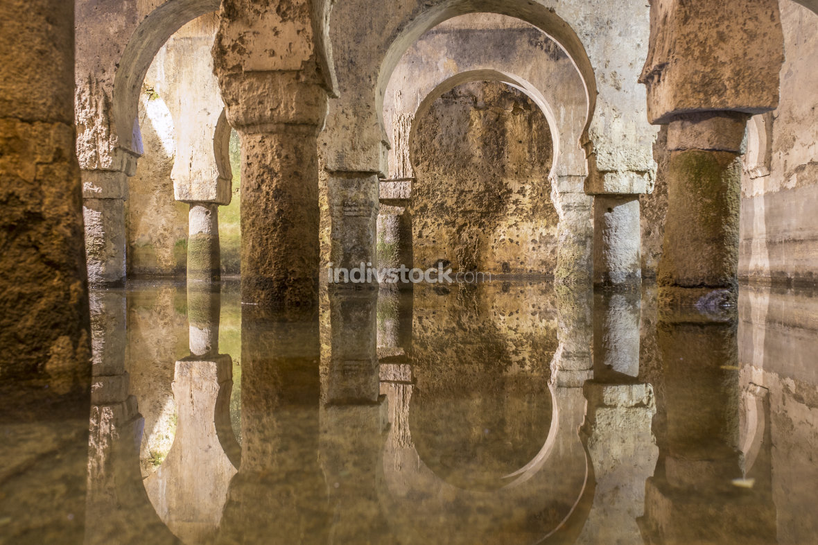 Arab cistern, former mosque during the Medieval Muslims Rule in