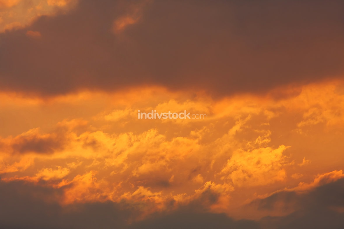 Background of colourful sky.