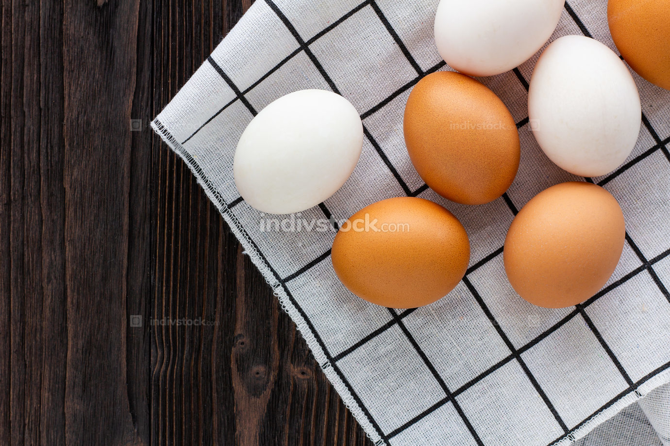 Chicken and Duck Eggs.