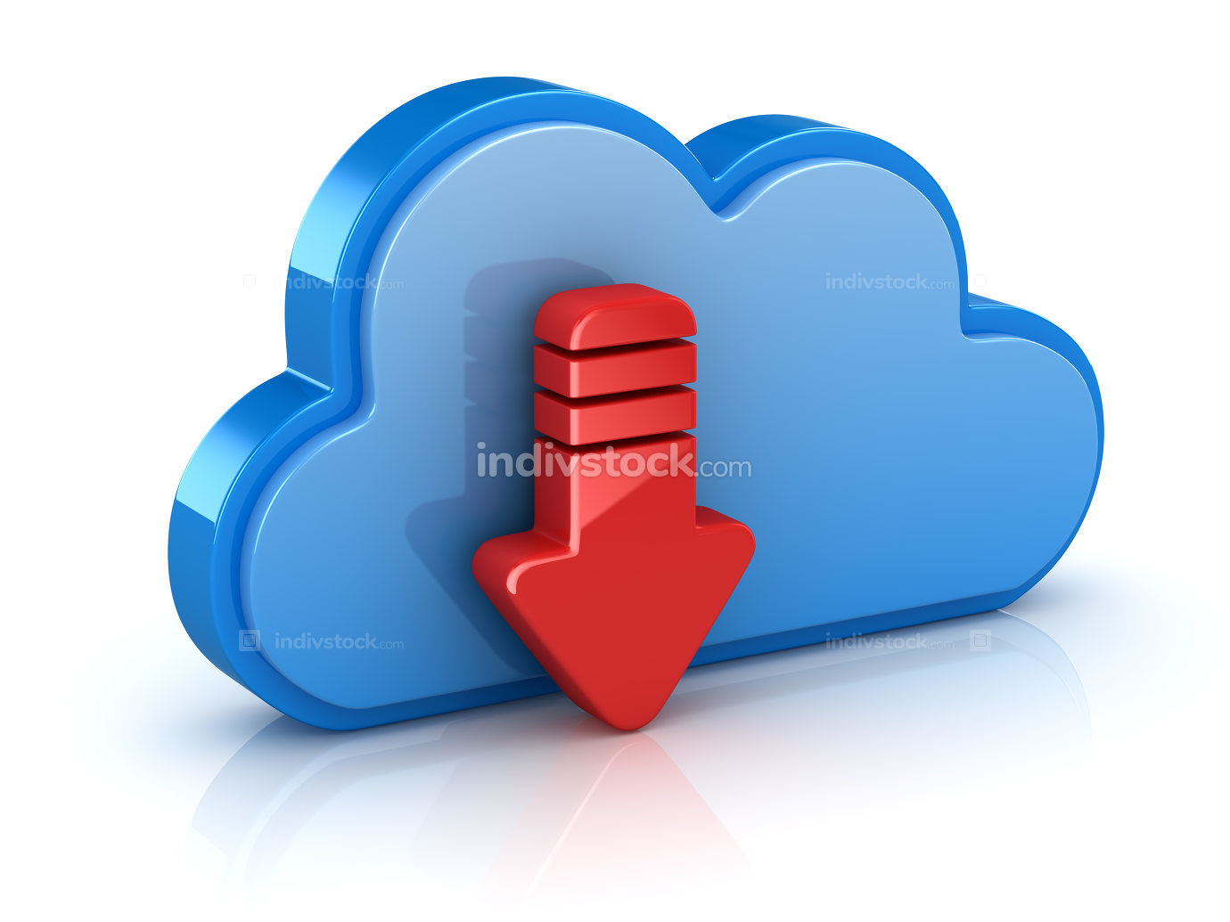 Cloud System Download Concept