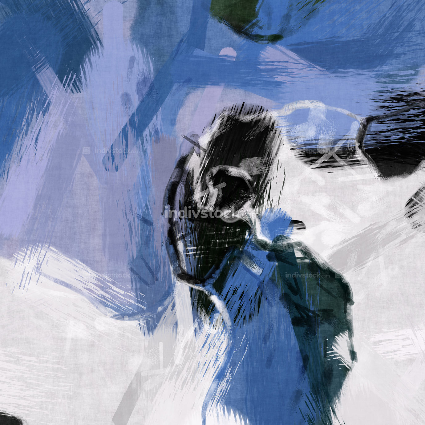 colorful digital painting artwork illustration