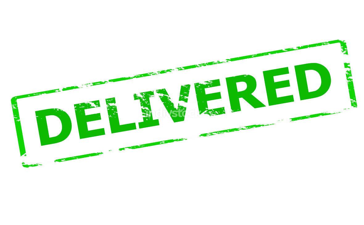 Delivered