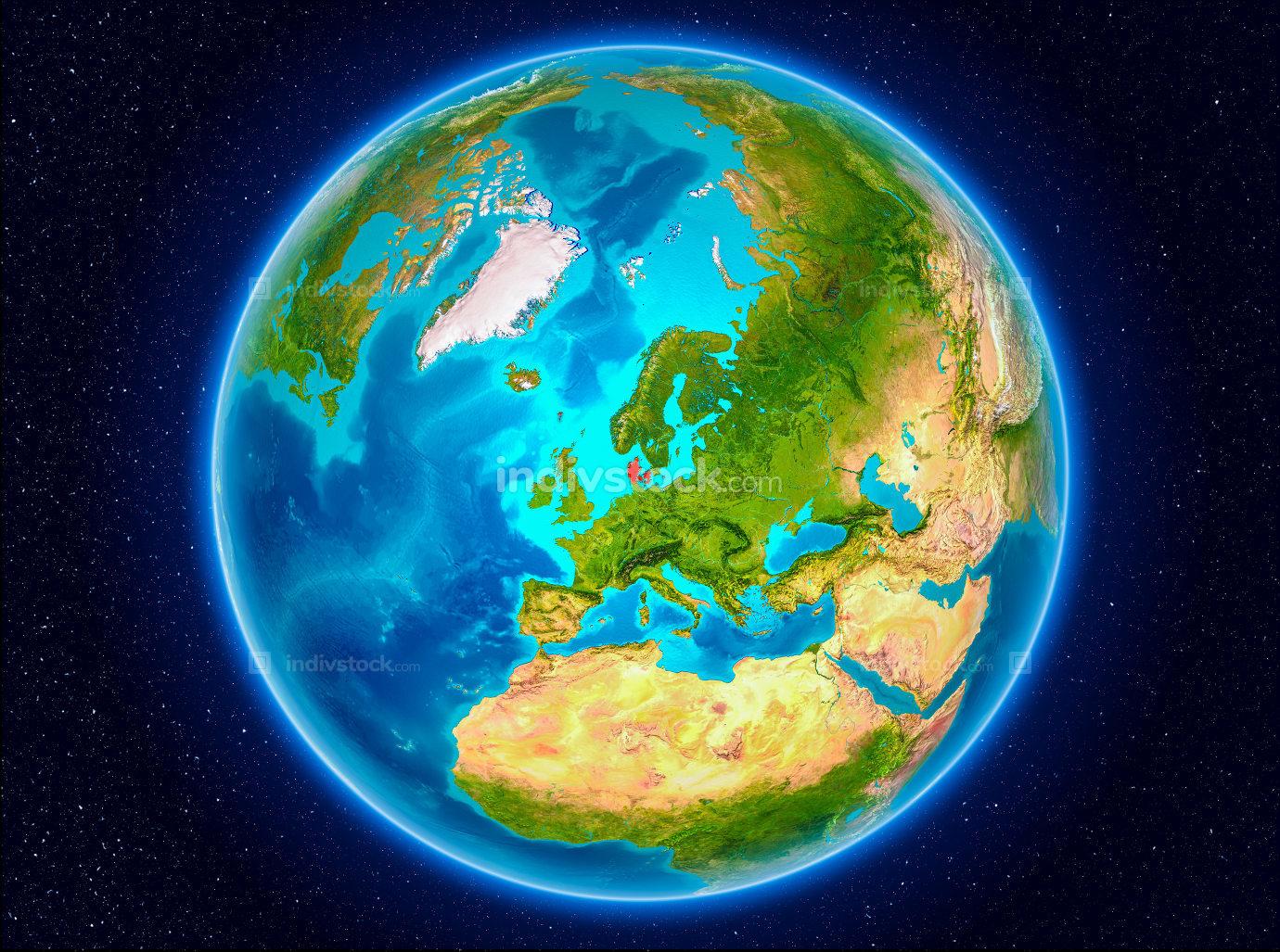 Denmark on Earth