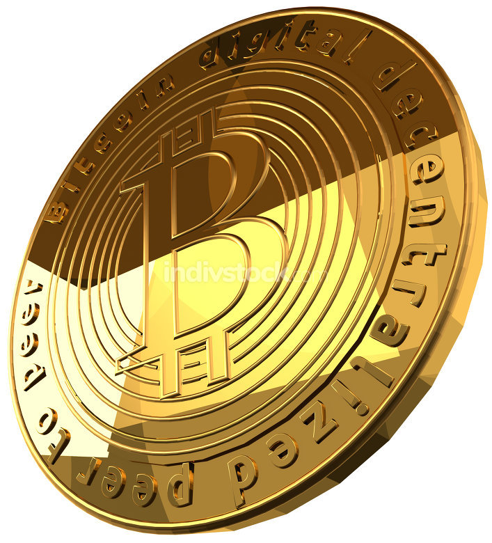 free download: Bitcoin 3d rendering