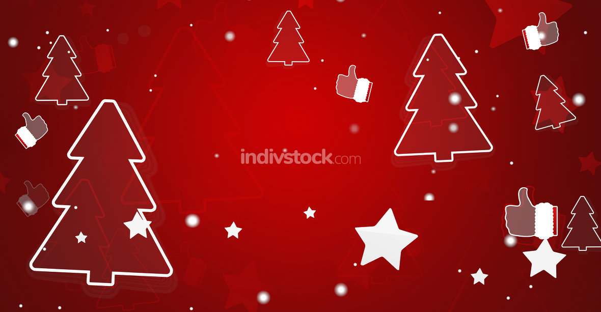 free download: christmas background 3d-illustration