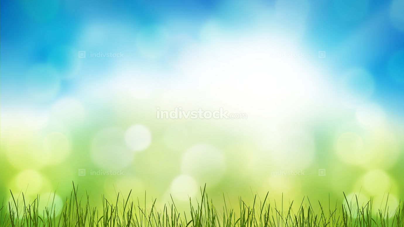 free download: green grass meadow lawn blades of grass 3d-illustration