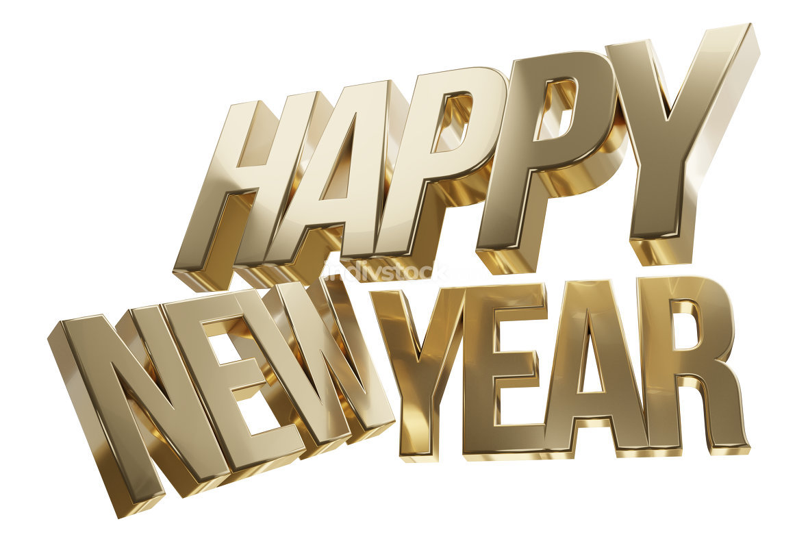 free download: happy new year 3d-illustration
