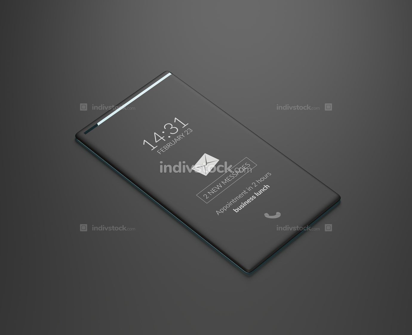 free download: mobile phone 3d-illustration