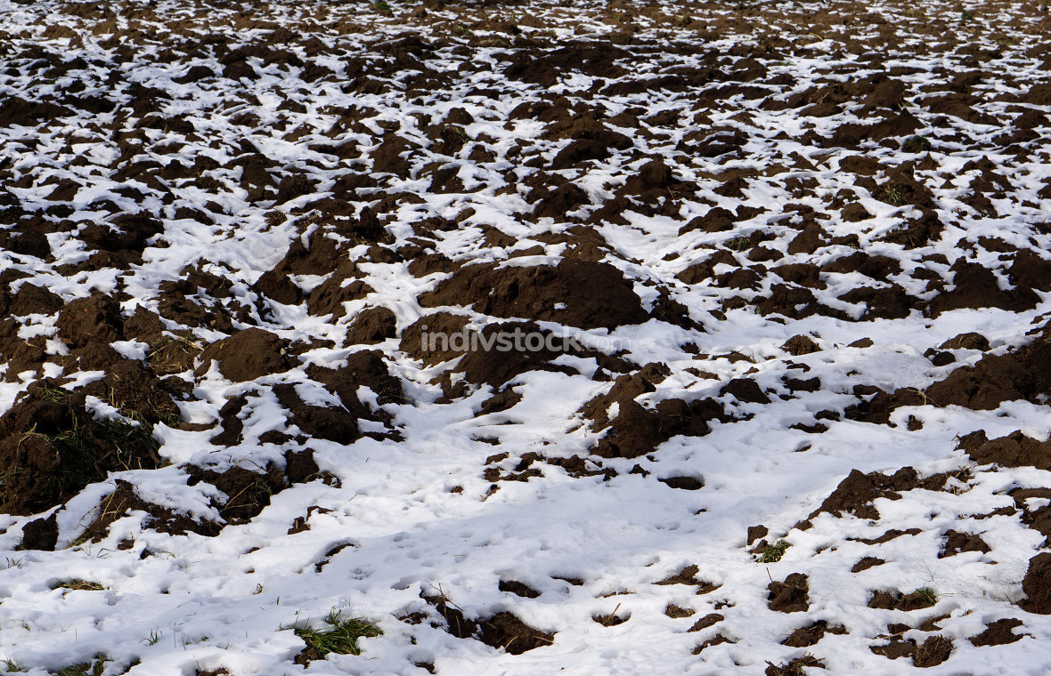 free download: snowed agriculture arable land