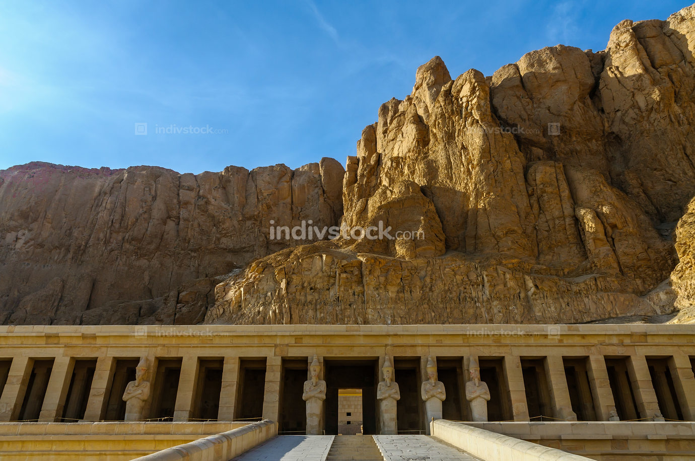 Hatshepsut Temple in the Valley of the Kings