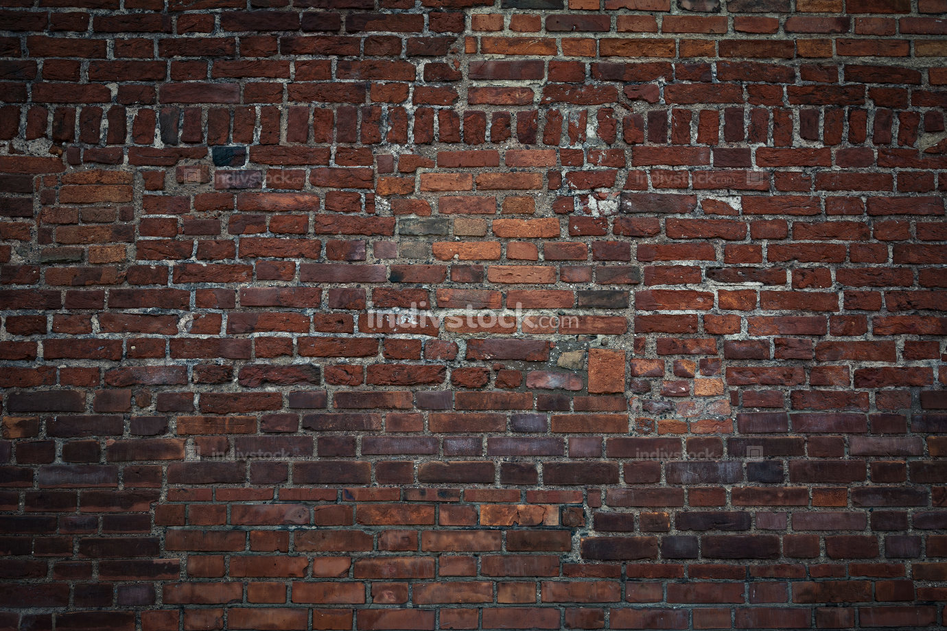 Large and old brick wall