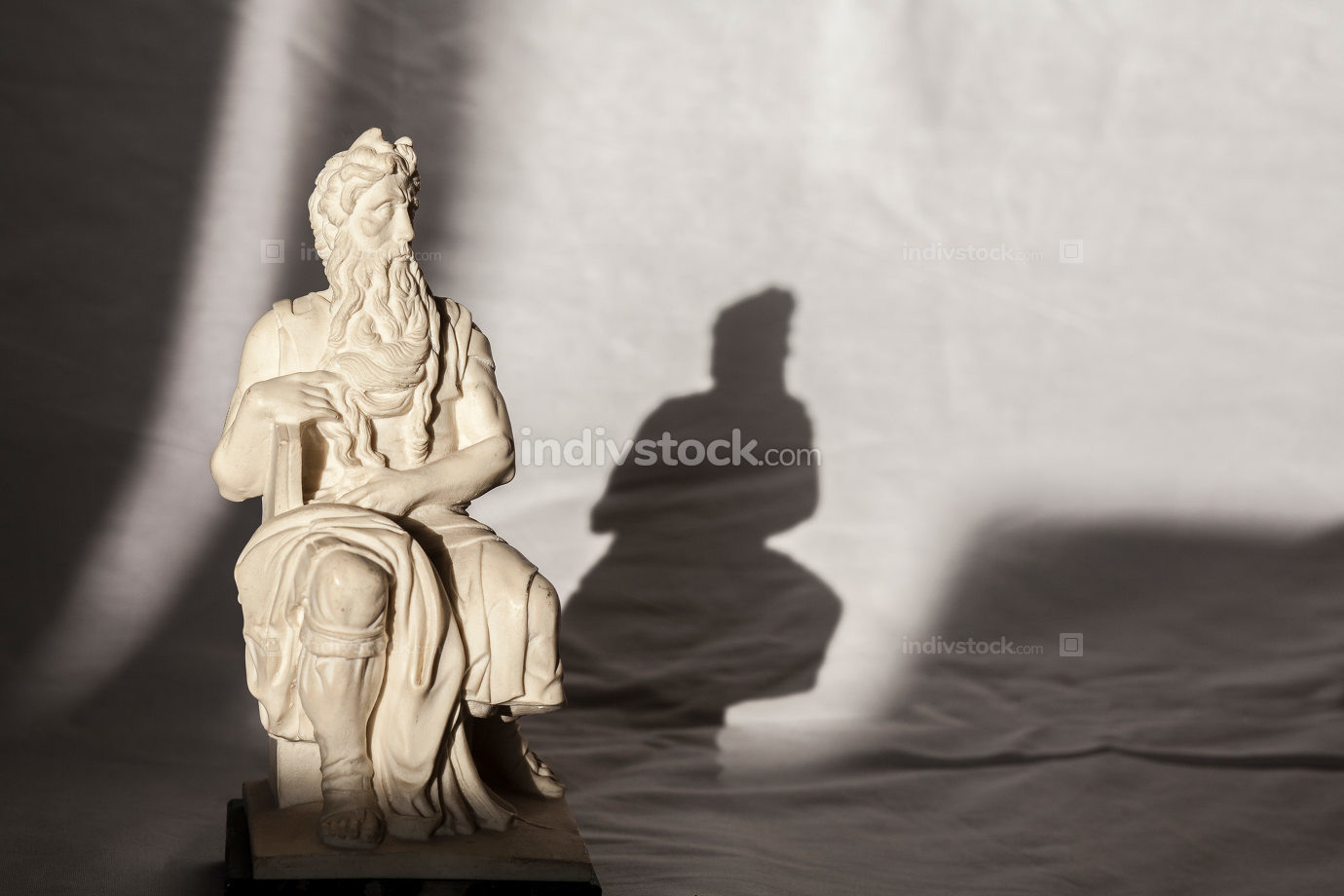 Michelangelo Moses sculpture, very popular as Rome souvenir