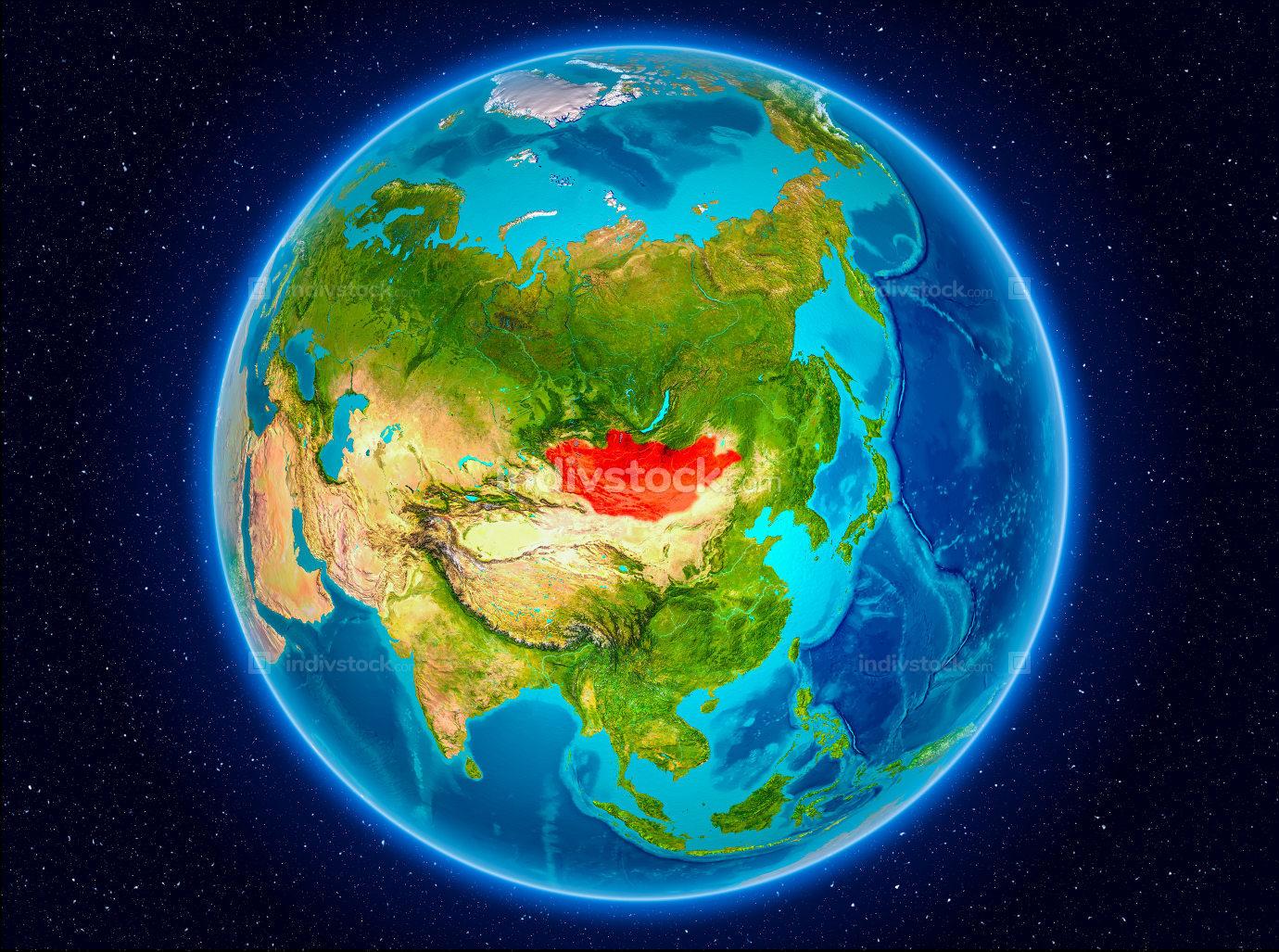 Mongolia on Earth