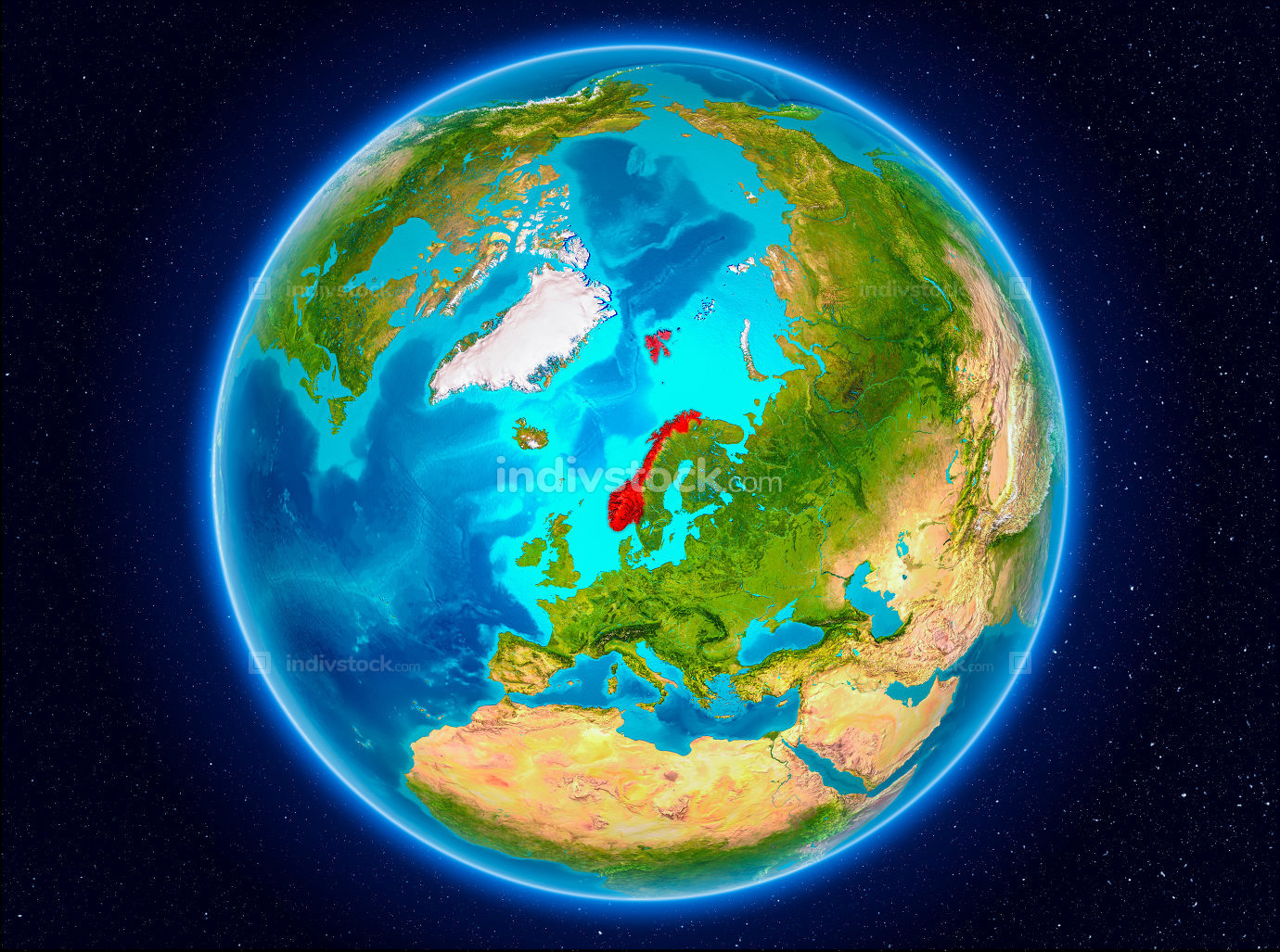 Norway on Earth