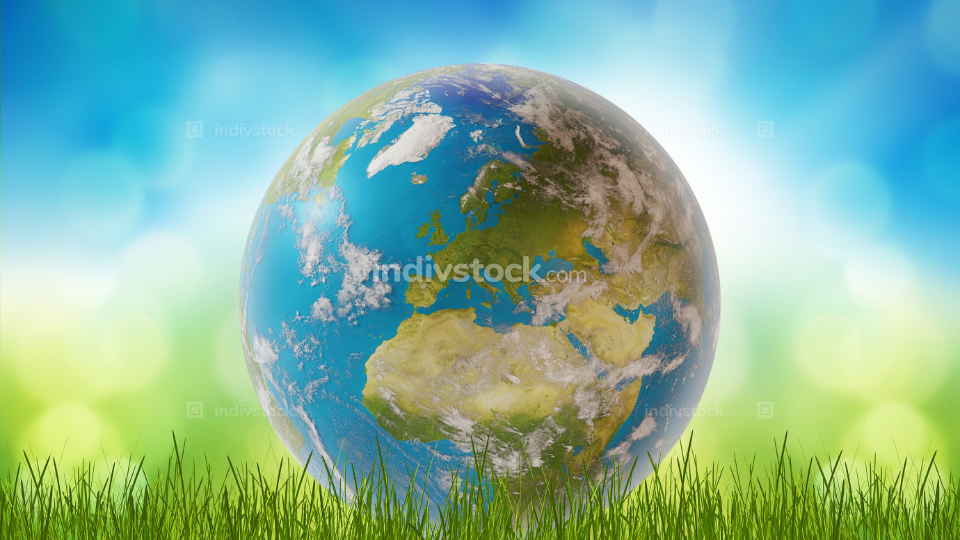 planet earth world wide 3d-illustration