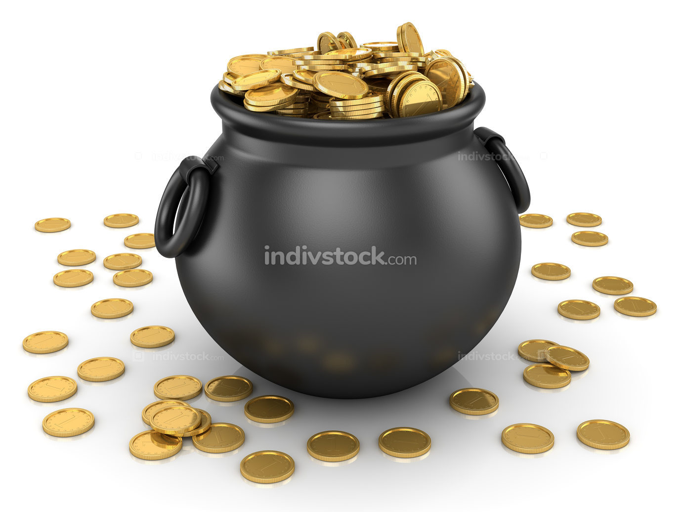 Pot of Gold Coin
