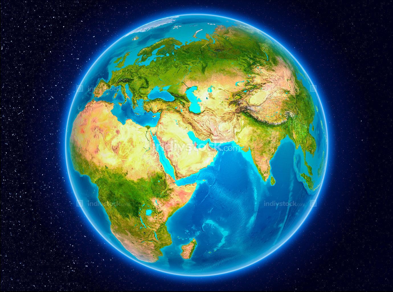 Qatar on Earth