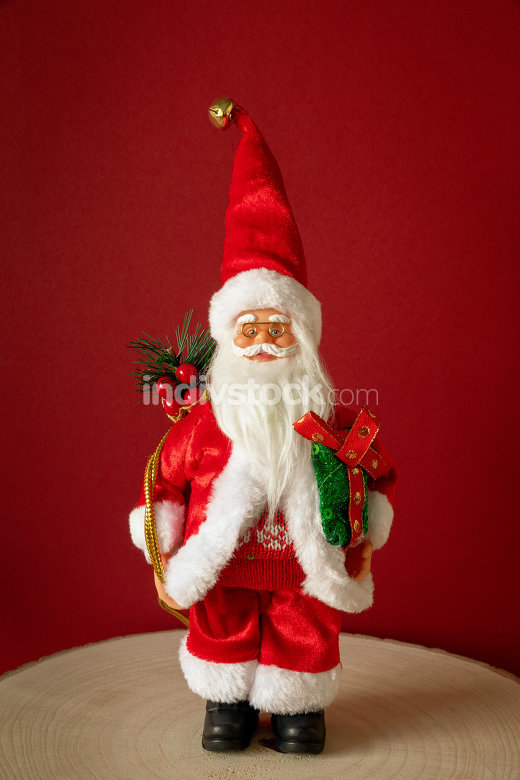 Santa Claus figure front view