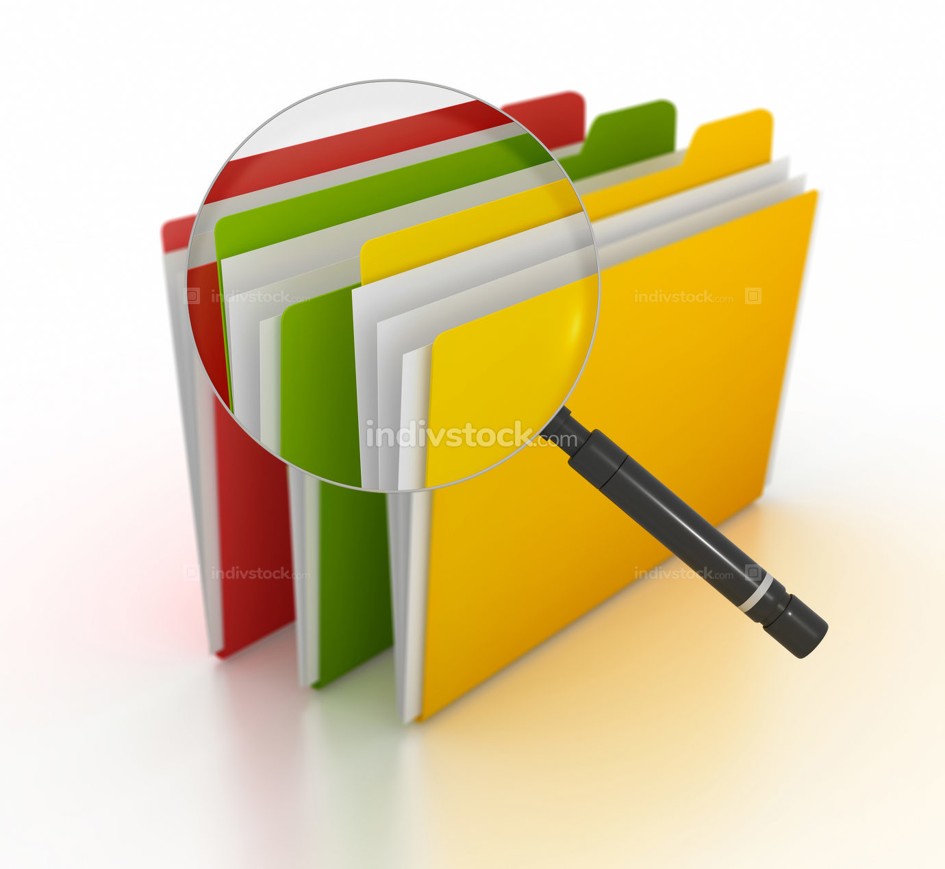 Searching file 3d rendered image
