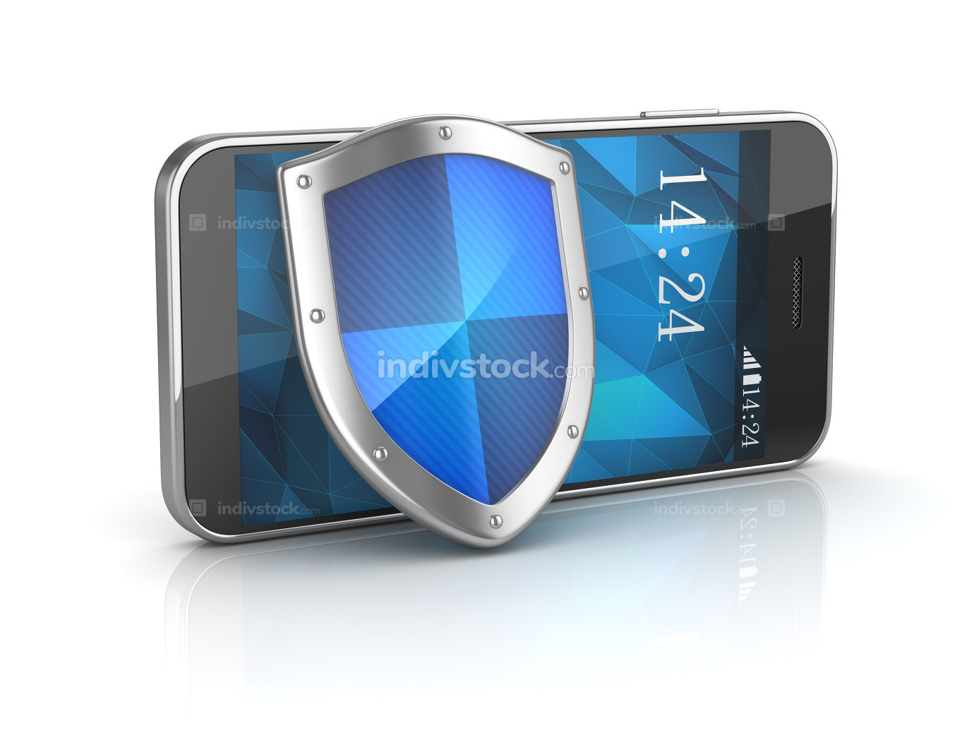 Smart Phone with Shield