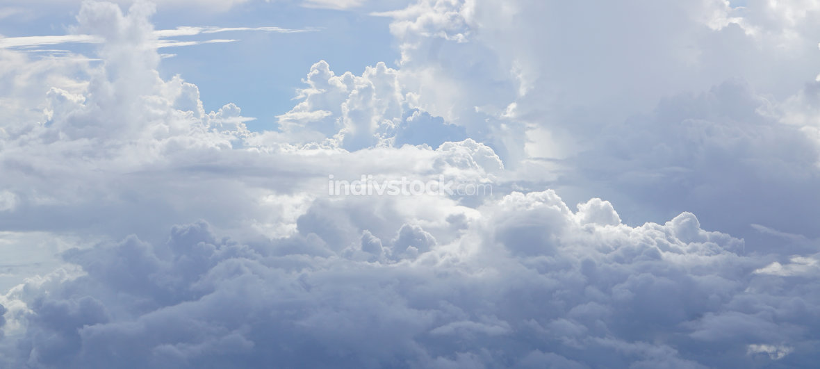 soft clouds above the the clouds background