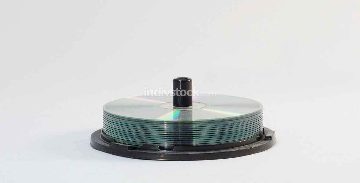 stack of cd rays