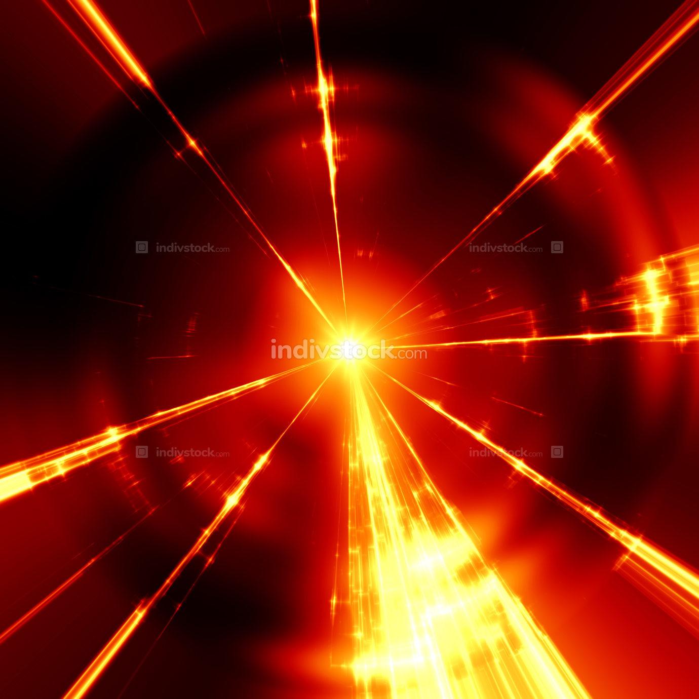 stylish red light streaks texture