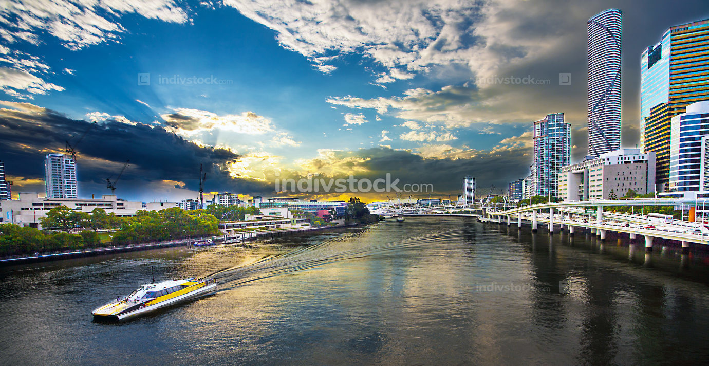 View of Brisbane Queensland Australia