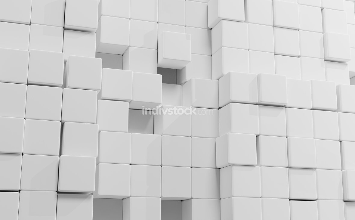 wall 3d-illustration