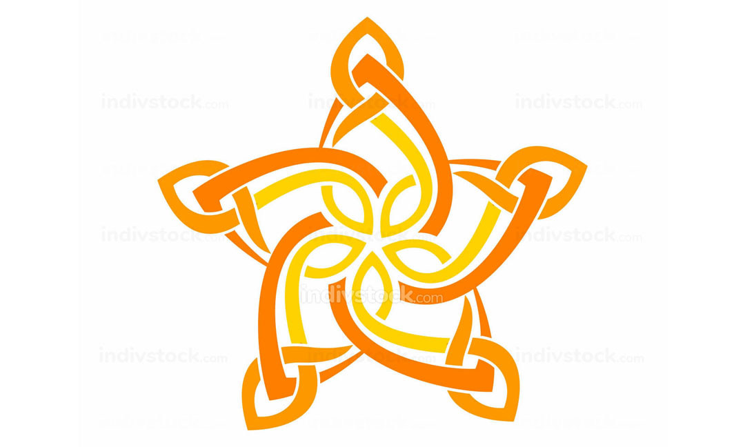 Abstract Star Logo Design Template Vector